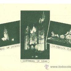 Postales: POSTAL PUBLICITARIA AEG,OVIEDO,LEÓN,MADRID,SIN CIRCULAR,REVERSO DIVIDIDO,. Lote 26244096