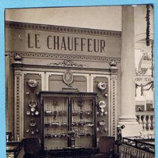 Postales: EXPOSICION DE AUTOMOVILES. EL CHAUFFEUR. BARCELONA, 1922.. Lote 26083232
