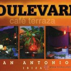 Postales: BOULEVARD CAFÉ TERRAZA SIN CIRCULAR . Lote 26149250