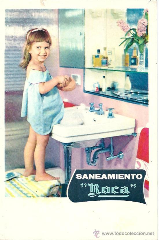 8425 - POSTAL DE PUBLICITARIA - SANEAMIENTO ROCA (Postales - Postales Temáticas - Publicitarias)
