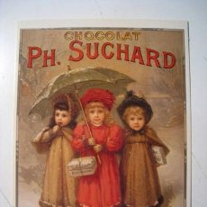 Postales: POSTAL PUBLICIDAD CHOCOLATE SUCHARD . Lote 27864534