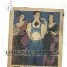 Postales: (PS-23478)POSTAL PUBLICITARIA DE SEVILLA-EXPOSICION GENERAL ESPAÑOLA AÑO 1929. Lote 27963209