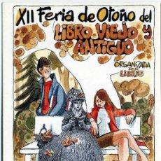 Postales: TARJETA POSTAL - SIN USAR - FERIA LIBRO ANTIGUO MADRID 2000 - MINGOTE. Lote 28071969