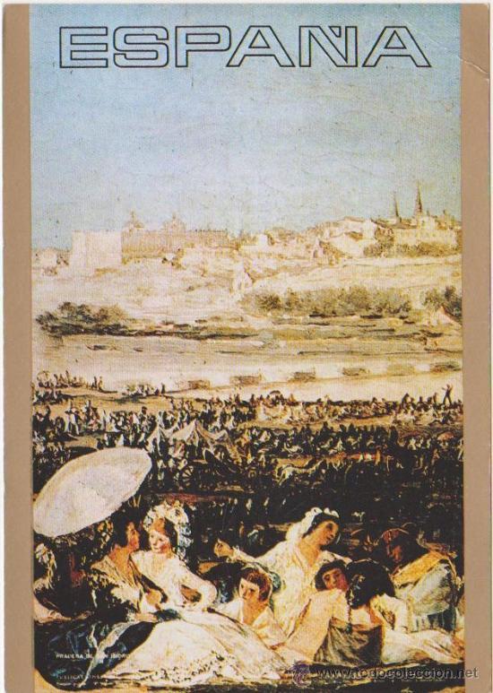 POSTAL CARTELES TURISTICOS DE ESPAÑA,PARTE TRASERA PROPAGANDA RODOMICINA.H.FOURNIER-VITORIA 1972 (Postales - Postales Temáticas - Publicitarias)