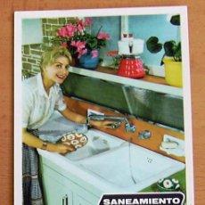 Postales: POSTAL PUBLICITARIA - SANEAMIENTO ROCA - INDUSTRIAS ARCAS (CÁDIZ). Lote 28747829