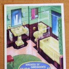 Postales: POSTAL PUBLICITARIA - APARATOS DE SANEAMIENTO ROCA - INDUSTRIAS ARCAS (CÁDIZ). Lote 28747850