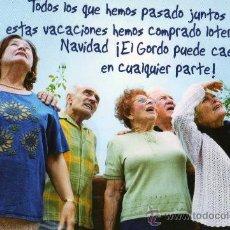 Postales: LOTERIA NACIONAL Y SI CAE AQUI EL NUEVO GORDO DE NAVIDAD . Lote 29206886