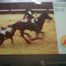 Postales: ANTIGUA TARJETA POSTAL PUBLICITARIA ESPAÑA REJONEO TOROS LINEAS AEREAS IBERIA. Lote 29259198