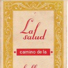 Postales: ASPIRINA LA SALUD CAMINO DE LA BELLEZA. Lote 29336299