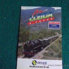 Postales: POSTALES-RENFE-TREN TURISTIC LLEIDA POBLA DE SEGUR. Lote 29368487