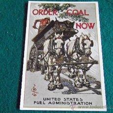 Postales: POSTALES-ORDER COAL NOW-D2-IMPERIAL WAR MUSEUM-JOSEPH CHRISTIAN LEYENDECKER-ORDER COAL NOW. Lote 29552711