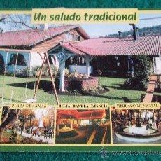 Postales: POSTALES-RESTAURANTE LA ESTANCIA-TRADICIONAL-CHILE-D2. Lote 29552725