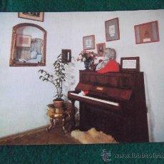 Postales: POSTALES-D8-VALLDEMOSA-PIANO DE CHOPEN-MALLORCA. Lote 29597564