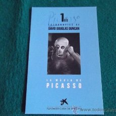 Postales: POSTALES-D8-DAVID DOUGLAS DUNCAN-PICASSO. Lote 29597620
