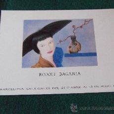 Postales: POSTALES-D8-RODOLF BAGARIA. Lote 29597630