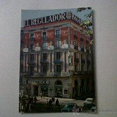 Postales: POSTAL PUBLICITARIA JOYERIA EL REGULADOR-BARCELONA-ESCRITA SIN CIRCULAR. Lote 29644886