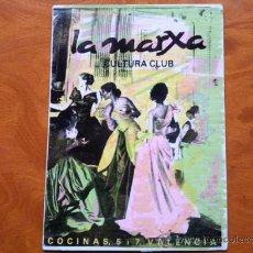 Postales: POSTAL . LA MARXA CULTURA CLUB . VALENCIA . POSTAL PUBLICITARIA . Lote 29695657