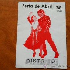 Postales: POSTAL - DISTRITO DISTINTO - BARCELONA 1988. Lote 29695929