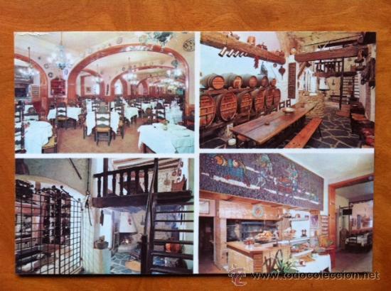 POSTAL PUBLICITARIA . HOTEL DURAN FIGUERES . ED MALLAL (Postales - Postales Temáticas - Publicitarias)