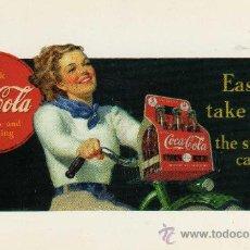 Postales: POSTAL COCA-COLA DELICIOUS AND REFRESHING SIN CIRCULAR . Lote 30090203