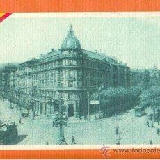 Postales: POSTAL PUBLICITARIA ANTIGUA BANCO DE VIZCAYA FINAL AÑOS 20 EXCELENTE ESTADO 8 X 13 CM. Lote 30272955