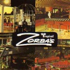 Postales: ZORBA'S TROPICAL DISCO PLAYA DE PALMA MALLORCA ESCRITA SIN CIRCULAR . Lote 30685874