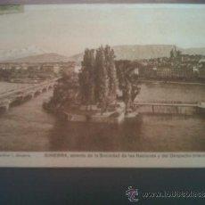 Postales: POSTAL PUBLICIDAD FARMACIA SARCOLACTINE GINEBRA BARCELONA CIRCULADA MASSOTI CARTAGENA MURCIA. Lote 31156711