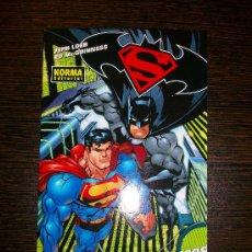 Postales: POSTAL COMIC SUPERMAN BATMAN - ENEMIGOS PÚBLICOS. Lote 31241063