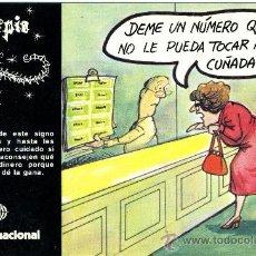 Postales: POSTAL LOTERÍA ZODIACO – SCORPIO 1981. Lote 31592114
