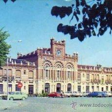 Postales: COLECCIÓN RENFE SERIE E 16 ESTACIÓN DE ARANJUEZ ESCRITA CIRCULADA SELLO AÑO 1977. Lote 31689981