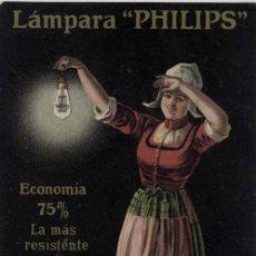 Postales: TARJETA POSTAL PUBLICITARIA DE LAMPARA