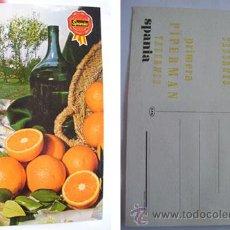 Postales: ANTIGUA POSTAL PUBLICIDAD : NARANJAS SPANIA TABERNES. Lote 31982151