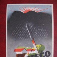 Postales: CONTRA EL PEDRISCO, LOS MEJORES COHETES GRANIFUGOS FABRICADOS POR ESPINOS (REUS). Lote 89809947