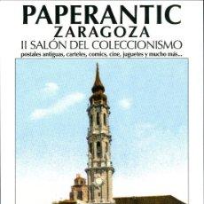 Postales: POSTAL - PAPERANTIC ZARAGOZA. Lote 104075503