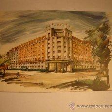 Postales: ANTIGUA TARJETA POSTAL ORIGINAL HILTON HOTEL, MADRID. Lote 32554386