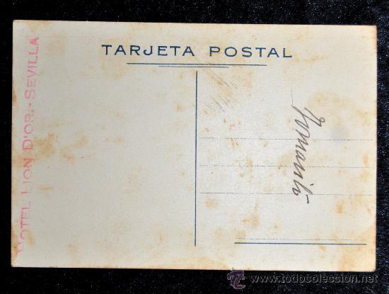 Postales: POSTAL SEVILLA. FIESTAS EN PRIMAVERA. SEMANA SANTA. FERIA ABRIL. AÑOS 30. LIT. S. DURÁ - Foto 4 - 32688421