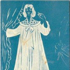 Postales: 0789E - ALMACENES LA GOLONDRINA - POSTAL PUBLICITARIA- DIPTICA 12X17 CM - 1958. Lote 32741339