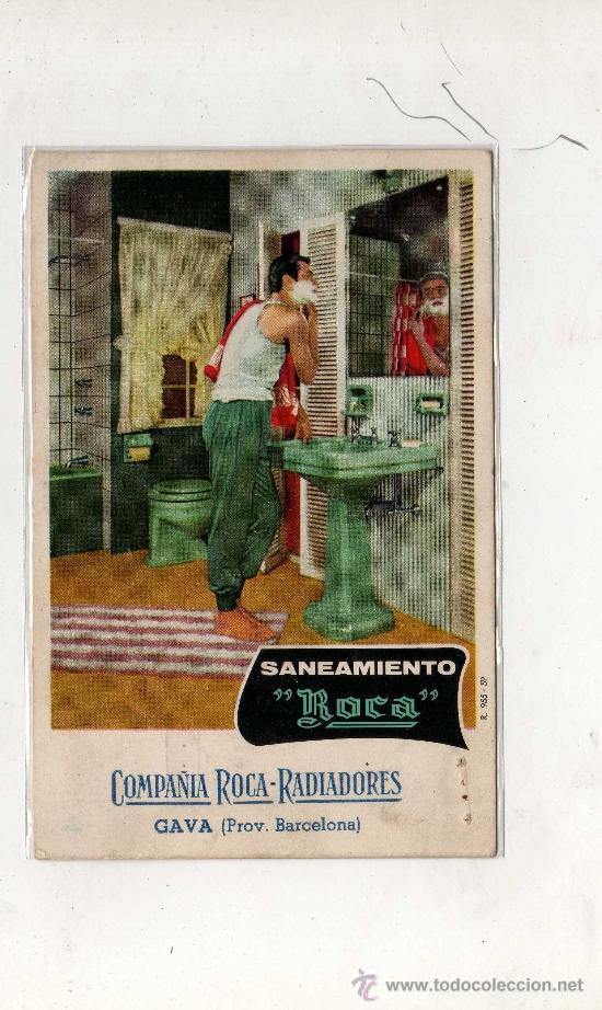 (M-ALB2) GAVA - SANEAMIENTO ROCA , COMPAÑIA ROCA - RADIADORES - CIRCULADA 1962 (Postales - Postales Temáticas - Publicitarias)