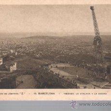 Postales: POSTAL PUBLICITARIA LAMPARAS Z - BARCELONA TIBIDABO Y CIUDAD Nº 10 MUMBRU. Lote 32879159