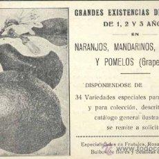 Postales: PUBLICIDAD DE CASA VEYRAT EN VALENCIA. Lote 33715649