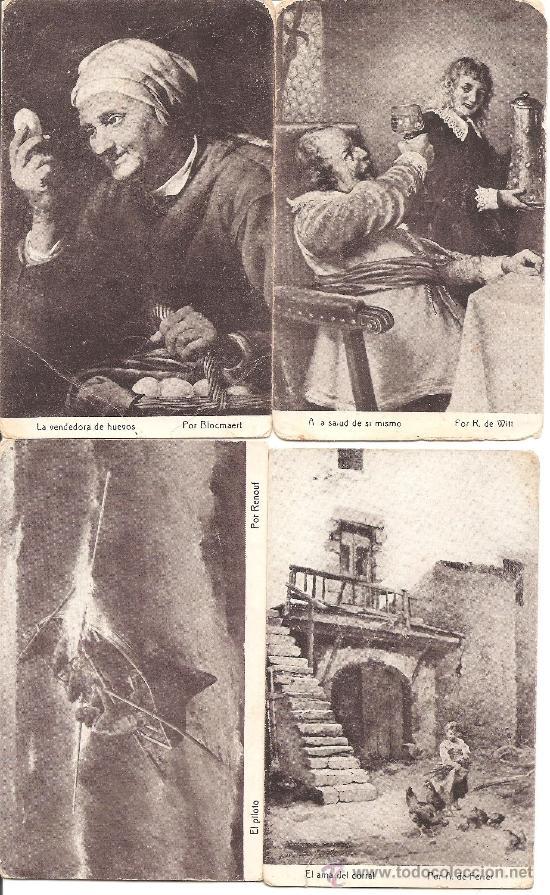 Postales: LOTE 15 POSTALES DIFERENTES CHOCOLATES AMATLLER MARCA LUNA - TEMÁTICA ARTÍSTICA - Foto 2 - 34391591