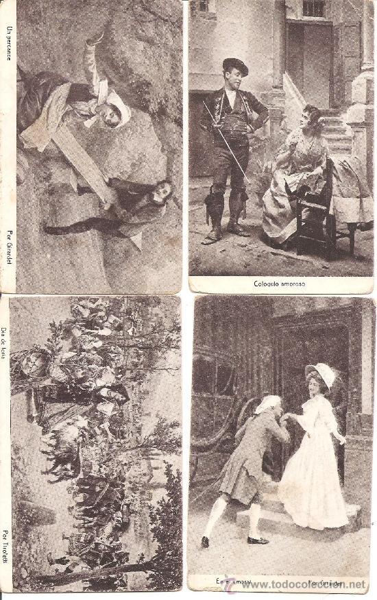 Postales: LOTE 15 POSTALES DIFERENTES CHOCOLATES AMATLLER MARCA LUNA - TEMÁTICA ARTÍSTICA - Foto 3 - 34391591