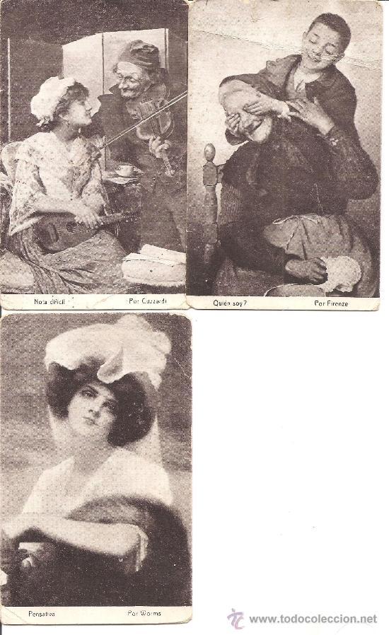 Postales: LOTE 15 POSTALES DIFERENTES CHOCOLATES AMATLLER MARCA LUNA - TEMÁTICA ARTÍSTICA - Foto 5 - 34391591