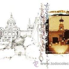 Postales: POSTAL PUBLICITARIA BARCELONA. Lote 34475989