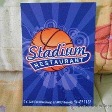 Postales: STADIUM RESTAURANT. Lote 34484702