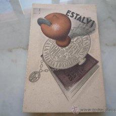 Postales: POSTAL CARTEL PUBLICIDAD Nº 6 ILUST. JOSEP MORELL *CAIXA PENSIONS VELLESA ESTALVIS* ED. CATALANA '30. Lote 34983732