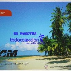Postales: POSTALES AEROLINEA TAM - SALVADOR - POSTAL AERO. Lote 35672660