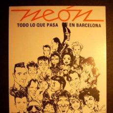 Postales: 2658 PUBLICIDAD PUBLICITY NEON BARCELONA POSTCARD POSTAL AÑOS 80 - TENGO MAS POSTALES. Lote 36181590