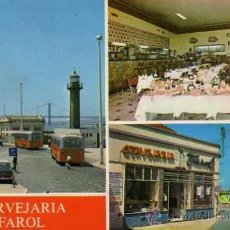 Postales: CERVEJARIA FAROL CACILHAS PORTUGAL P. 502 SIN CIRCULAR . Lote 36267769