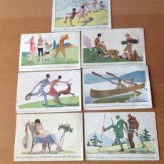 Postales: LOTE DE POSTALES PUBLICITARIAS HEMOSTYL DEL DOCTOR ROUSSEL. Lote 36527336